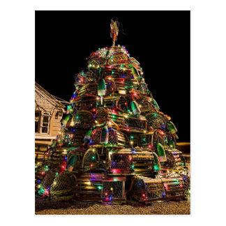 Joyeux Noël de carte postale du Maine