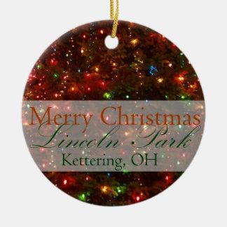 Joyeux Noël de Kettering, ornement de l'Ohio 2015