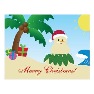 Joyeux Noël d'Hawaï ! (Mele Kalikimaka !) Carte Postale
