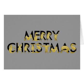 Joyeux Noël écrit dans les poneys ! Cartes