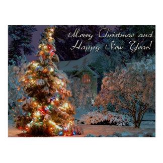 Joyeux Noël et bonne année Cartes Postales