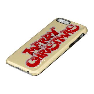 Joyeux Noël et bonne année Coque iPhone 6 Incipio Feather® Shine