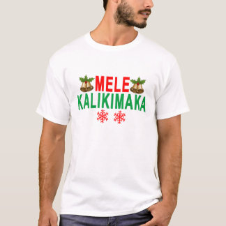 Joyeux Noël et bonne année de MELE KALIKIMAKA T-shirt