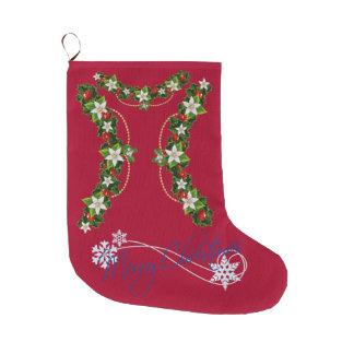 Joyeux Noël et bonne année Grande Chaussette De Noël