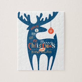 Joyeux Noël et bonne année Puzzle