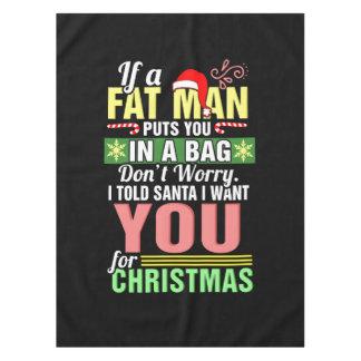 Joyeux Noël et père noël Nappe