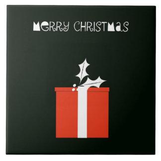 Joyeux Noël Grand Carreau Carré