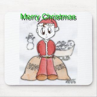 Joyeux Noël Manga Tapis De Souris