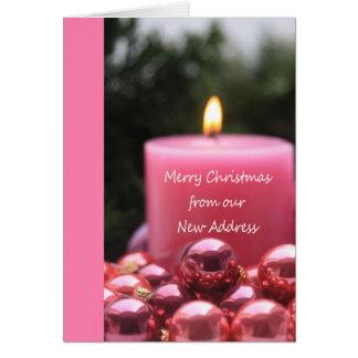 Joyeux Noël - nouvelle carte de Noël d'adresse