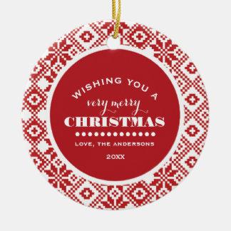 Joyeux Noël. Ornements faits sur commande de Noël