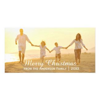 Joyeux Noël simple - carte photo Photocartes