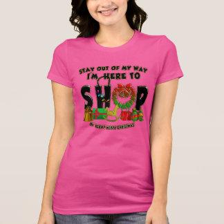 Joyeux Noël - T-shirt drôle d'achats de vacances