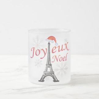 Joyeux Noel Tasse Givré