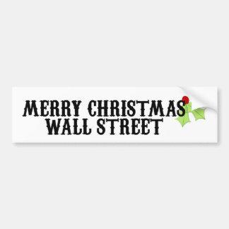 Joyeux Noël Wall Street Autocollants Pour Voiture
