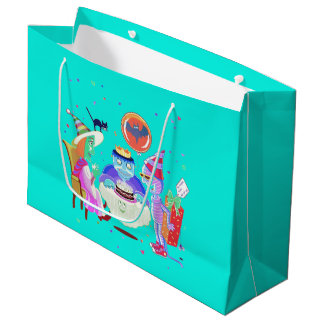 Joyeux sac de cadeau de Frankie d'anniversaire