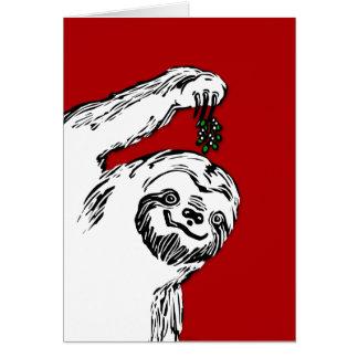 Joyeux Slothmas !  C'est une carte vierge. Pour