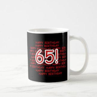 Joyeux soixante-cinquième anniversaire mug
