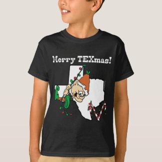 Joyeux T-shirt de Noël de Texmas