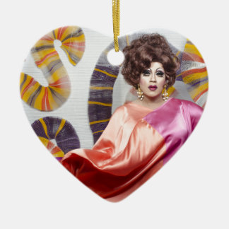 Juanita DAVANTAGE ! Ornement Cœur En Céramique