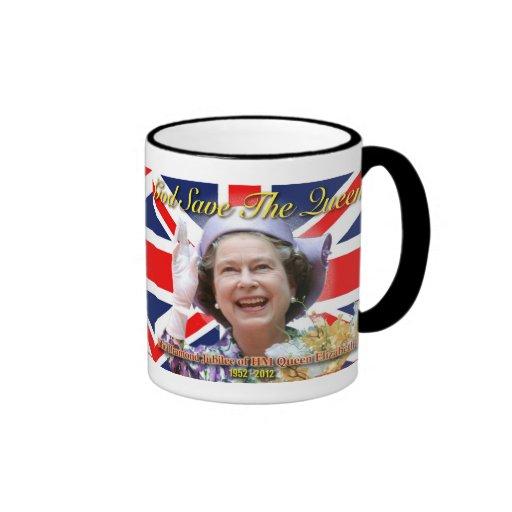 Jubilé de diamant de S.M. la Reine Elizabeth II Tasse À Café