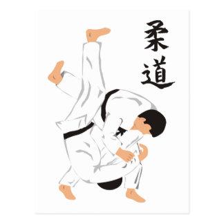 Judo Carte Postale