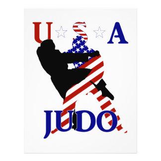 Judo des Etats-Unis Prospectus 21,6 Cm X 24,94 Cm