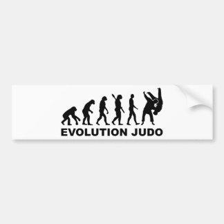 Judo d'évolution autocollant pour voiture
