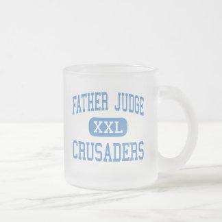 Juge de père - croisés - haut - Philadelphie Tasse Givré