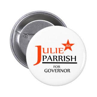 Julie Parrish pour la goupille de gouverneur Badges