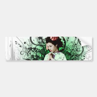 Julzips - geisha autocollant pour voiture