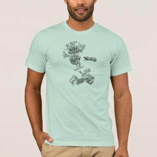 Jumeau 1949 de Norton éclaté T-shirt