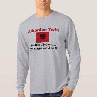 Jumeau albanais beau t-shirt