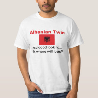 Jumeau albanais beau t-shirts