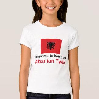 Jumeau albanais heureux t-shirt
