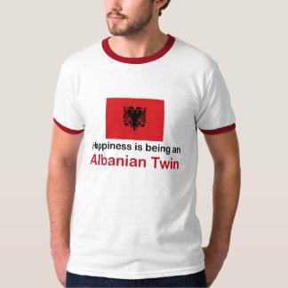 Jumeau albanais heureux t-shirts