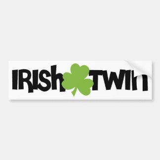 Jumeau irlandais adhésifs pour voiture