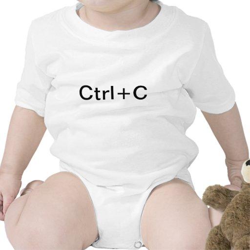 Jumeaux copie et pâte CTRL+C CTRL+V chemise T-shirts