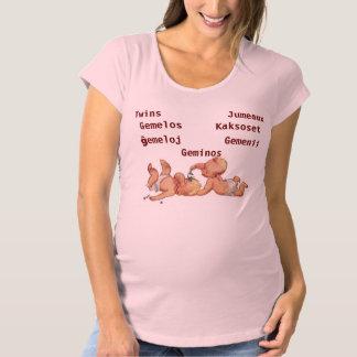 Jumeaux T-Shirt De Maternité
