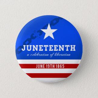 Juneteenth une célébration de la libération pin's