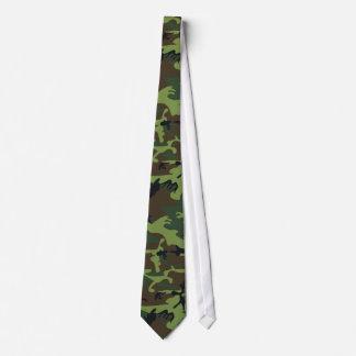 Jungle Camo vert Cravates Personnalisables