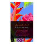 Jungle hawaïenne 3 de PixDezines - arrière - plan  Cartes De Visite Professionnelles