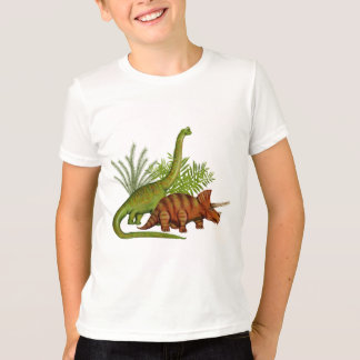 Jungle jurassique de dinosaure t-shirt