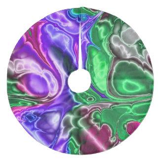 Jupon De Sapin En Molleton fractale électrique 3