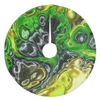 Jupon De Sapin En Molleton fractale électrique 4b