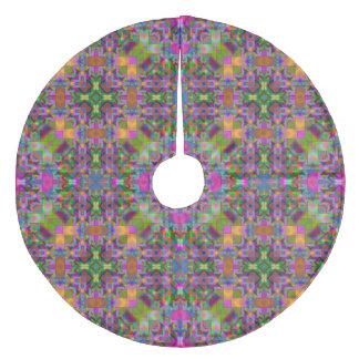Jupon De Sapin En Molleton Motif merveilleux V01 de Kaleido