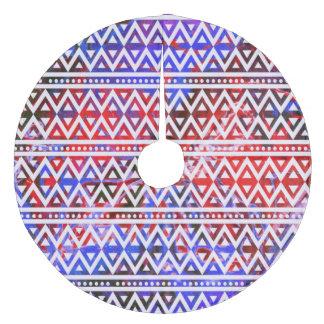Jupon De Sapin En Molleton Motif tribal V01C d'imaginaire