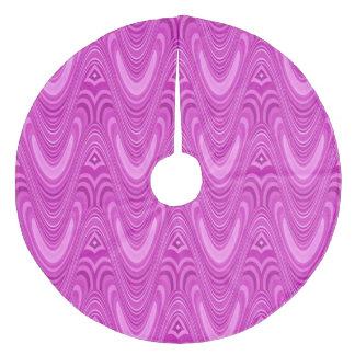 Jupon De Sapin En Molleton rétro motif les années 70 le 3D