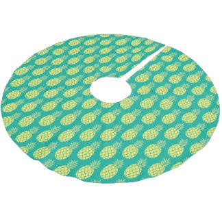 Jupon De Sapin En Polyester Brossé Ananas en pastel