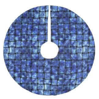 Jupon De Sapin En Polyester Brossé Armure électrique -