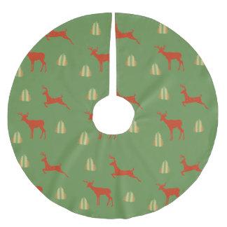 Jupon De Sapin En Polyester Brossé Jupe faite sur commande d'arbre de temps de Noël